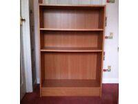 Beech Veneer Bookcase