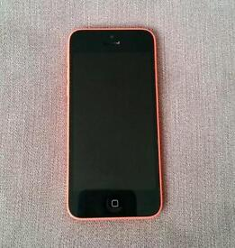 iPhone 5c pink faulty screen 132gb