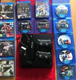 for sale ps4 + games