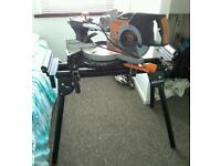 Evolution rage mitre saw and stand