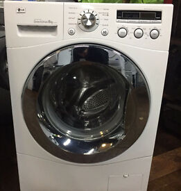 LG F1447TC 8kg 1400 Spin White LCD Super Silent Washing Machine 1 YEAR GUARANTEE FREE FITTING