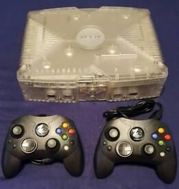 Retro Xbox Console