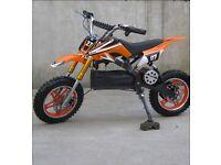 110 36volt pit bike