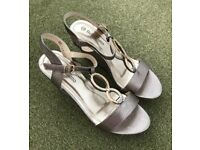 Bellissimo High Wedge Buckle Sandal - £20