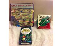 Golf Tiddlywinks still in cellophane, House of Marbles, Golf Trivia