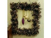 Large Christmas Wreath. S6