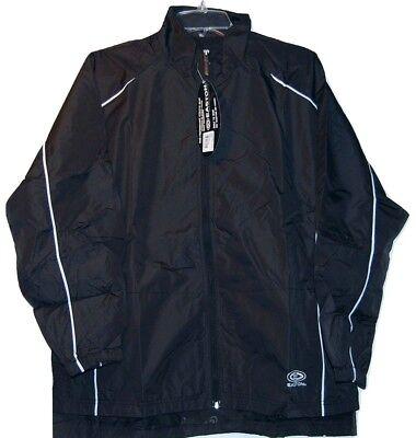 (Easton Synergy Youth Hockey Skate Jacket  Black  Size L/XL )