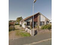 Furnished 1 bedroom house to rent in Cruden Bay. Private driveway and front/rear garden with shed.