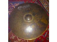 "Bosphorous Vintage Master Series 20"" Ride Cymbal."