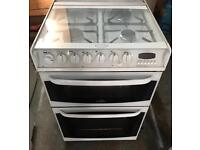 WHITE CANNON HENLEY NICE GAS & ELECTRIC COOKER EXCELLENT CONDITION, 4 MONTH WARRANTY
