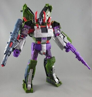 Transformers Combiner Wars Armada MEGATRON Complete Leader Tank