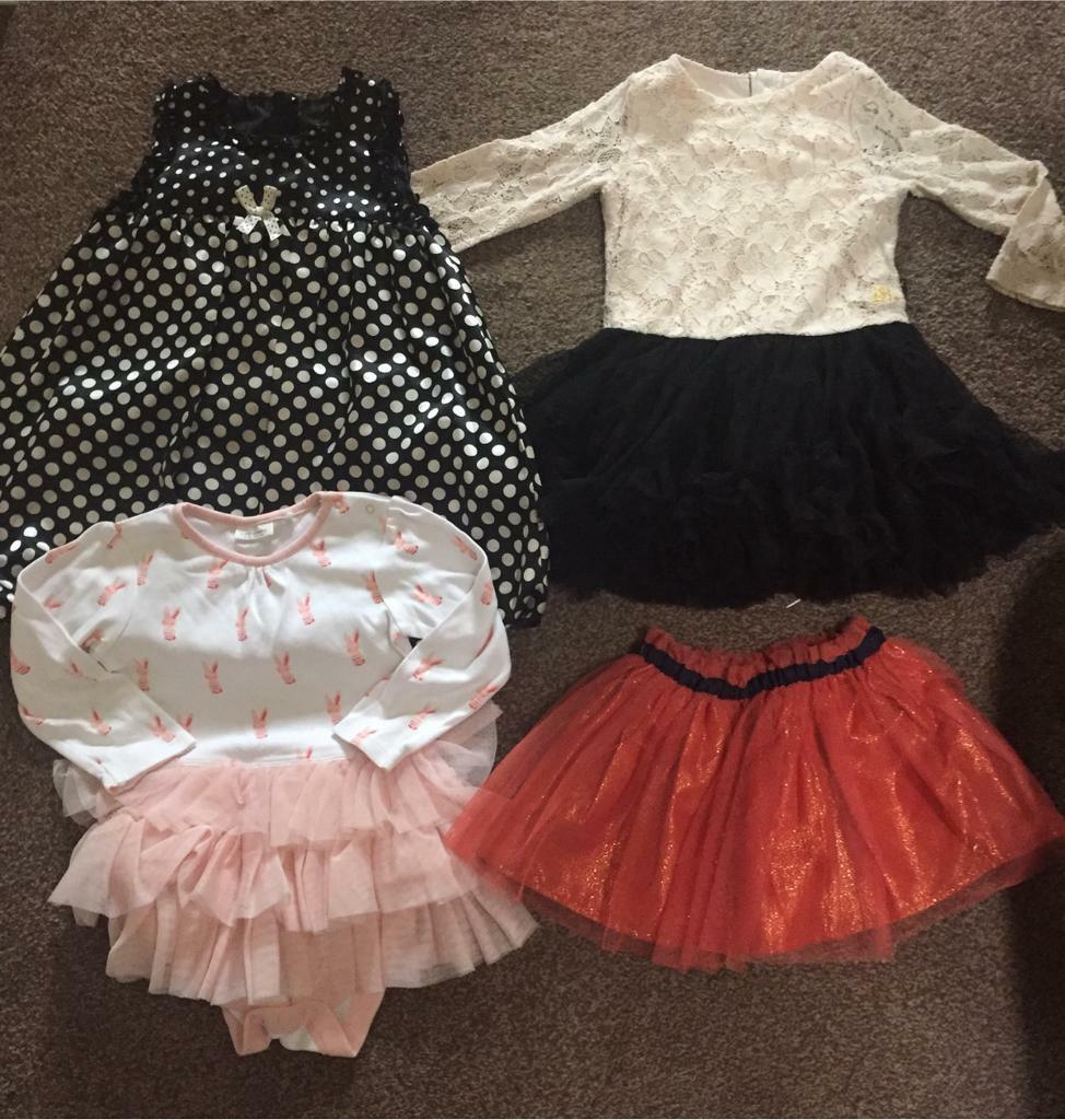 Girls Clothes - 12-18 months