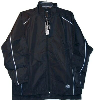 (Easton Synergy Black Hockey Skate Jacket  size Small )
