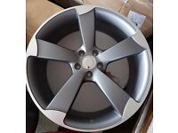 "Audi Rotor / TTRS New Style Wheels 17"" 18"" 19"" 20"""