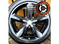 "##CHEAP## 18"" Genuine Audi S Line alloys good condition good tyres"