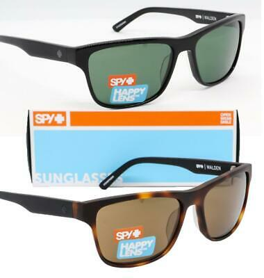 NEW SPY OPTIC WALDEN SUNGLASSES - Choose Blonde Tortoise / Black - Happy (Spy Optics Happy Lens)