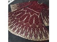 Asian Indian Wedding Sararaa Dress