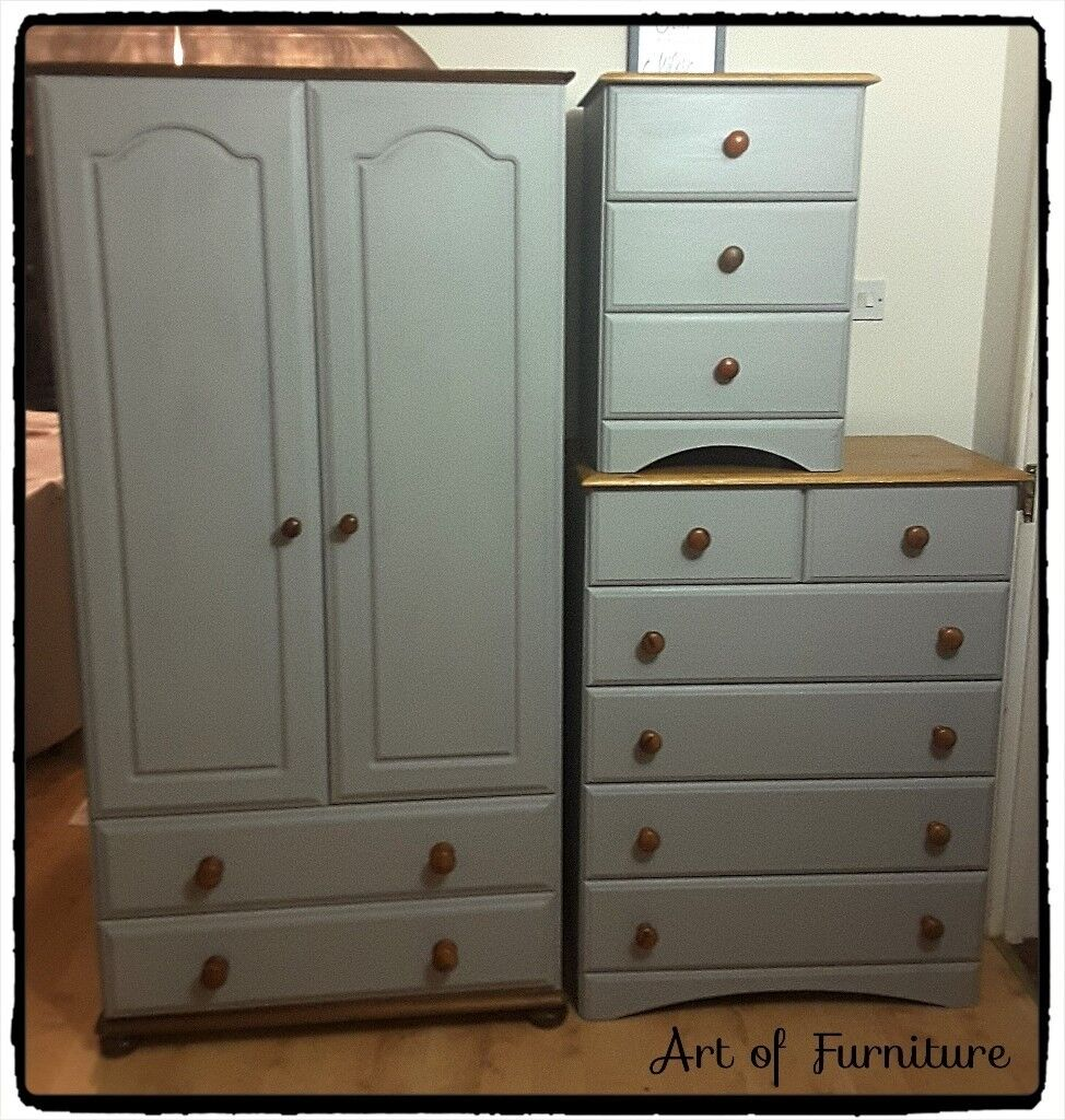 painted pine bedroom furniture – Sistem As Corpecol