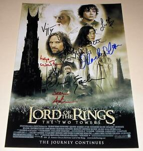 LORD-OF-THE-RINGS-ROTK-CASTx8-PP-SIGNED-12-X8-POSTER