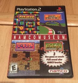 PS2 Namco museum