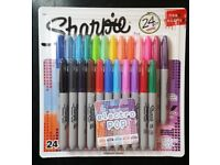 Sharpie: Electro Pop 24 Pack