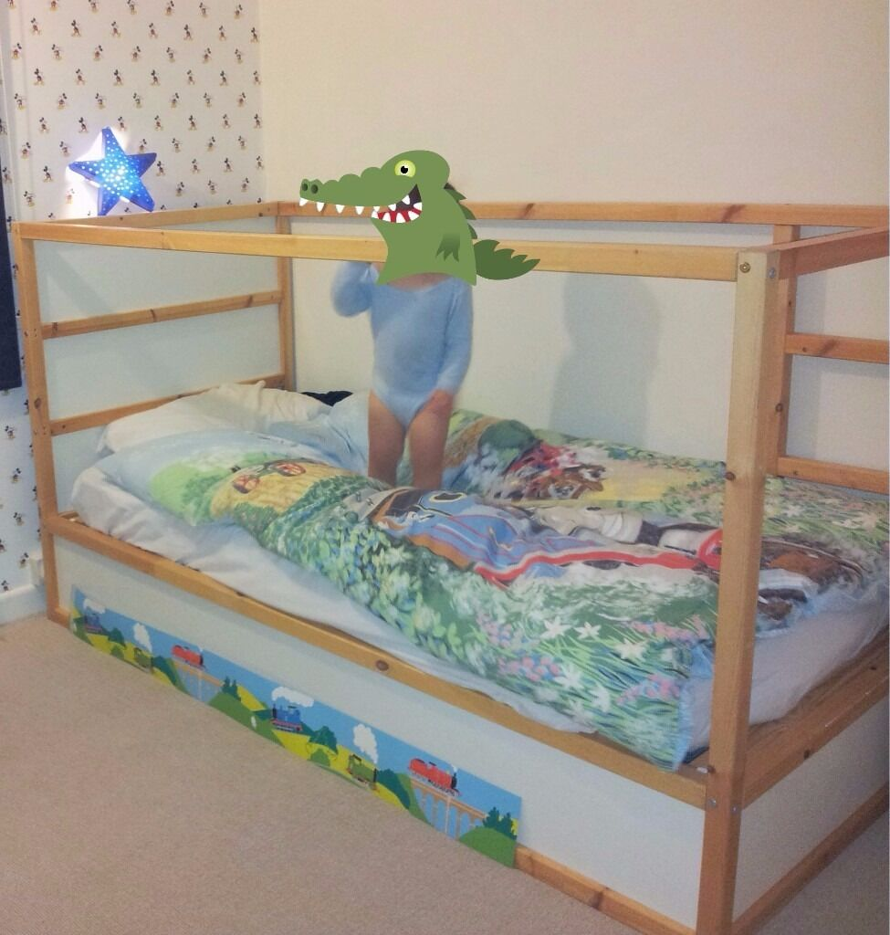 Home images ikea kura bed ikea kura bed facebook twitter google - Ikea Kura Reversible Bunk Bed Mid Sleeper Space Stars Tent