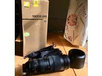 Nikon 200-500mm f5.6 zoom lens