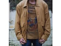 HUGO BOSS style Leather Italian Jacket