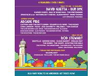 Isle of white festival full 3 night tickets