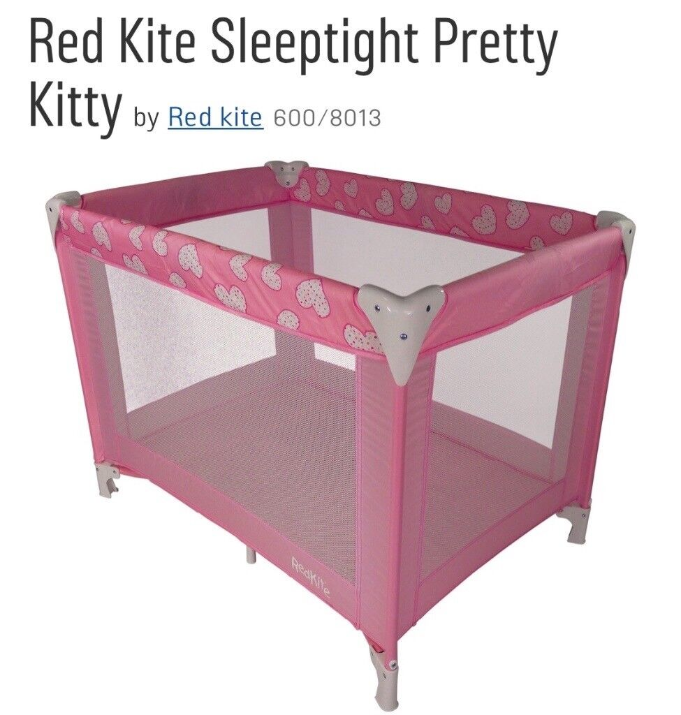 Travel Cot Pink New Red Kite In Brislington Bristol