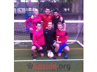 Spaces for new teams in 5aside leagues in Marylebone!