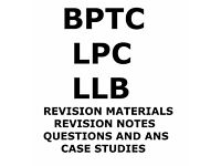LPC BPTC LLB REVISION PACKS QUESTION AND ANSWERS
