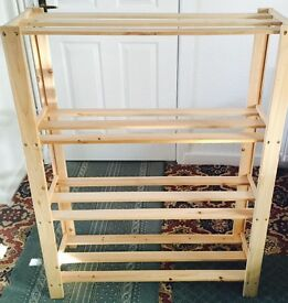 For sale long storage shelving rack