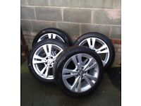 "Excellent condition 17"" Mercede alloy wheels"