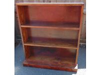 rustic pine farmhouse style bookshelf shelving unit real pine solid wood