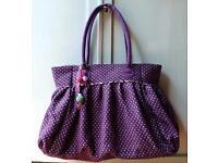 Spiegelburg Handtasche, groß, violett mit weißen Pünktchen, NEU Kreis Pinneberg - Wedel Vorschau