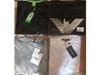 T shirts (Ea7, Philip plein etc)