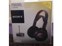 Sony Wireless Home Headphones MDR-RF811RK - Black
