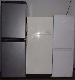 3 fridge freezers job lot - Beko Frigidaire Bush