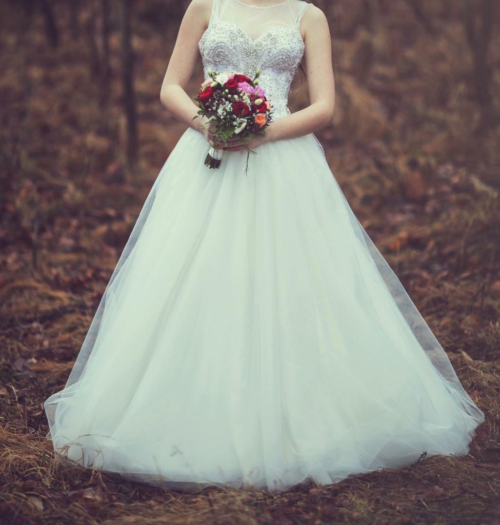 Sparkling Diamonds Wedding Dress In Alvaston Derbyshire Gumtree