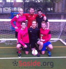 Looking for individuals for new Marylebone Tuesday 5-a-side football league