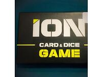 ION card and dice game