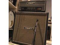 Hiwatt DR-103 + cab 100% vintage 1973