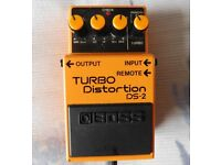 Boss Turbo Distortion DS-2 Pedal