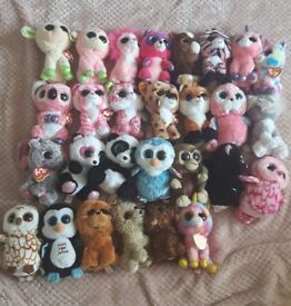 TY BEANIE BOOS STILL WITH TAGS