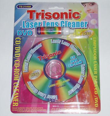 Cd Rom Cleaner - LASER LENS CLEANER FOR CD DVD CD-ROM PC PS2 PS3 X-BOX