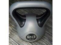 York Fitness 20kg Vinyl Kettlebell Rrp £ 38.99