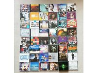 72 Music CD Albums & Singles Joblot /Bundle - All Listed & Graded - Pop, Rock