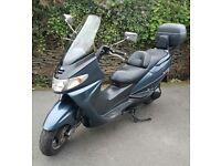 Suzuki burgman 400 for sale or swaps