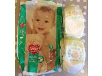 7x Tescos Ultra dry nappies - 50p PLUS 4x FREE Tescos value nappies (Open pack but BRAND NEW) (FFSP)